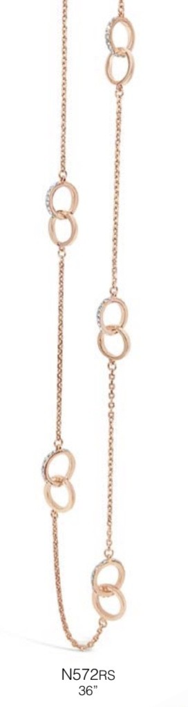 ABSOLUTE N572RS ROSE GOLD NECKLACE