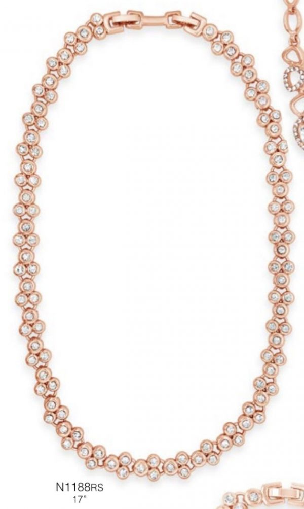 ABSOLUTE N1188RS ROSE GOLD NECKLACE