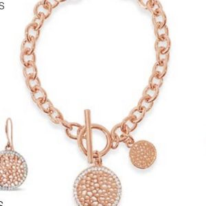 ABSOLUTE B1049RS ROSE GOLD BRACELET