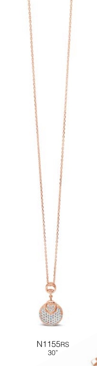 ABSOLUTE N1155RS ROSE GOLD NECKLACE