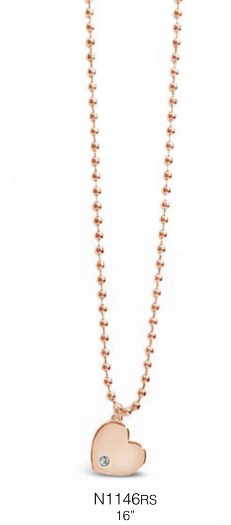 ABSOLUTE N1146RS ROSE GOLD NECKLACE