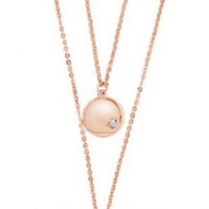 ABSOLUTE N1148RS ROSE GOLD NECKLACE