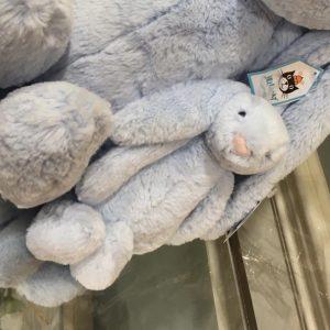 Small Blue JellyCat Bunny