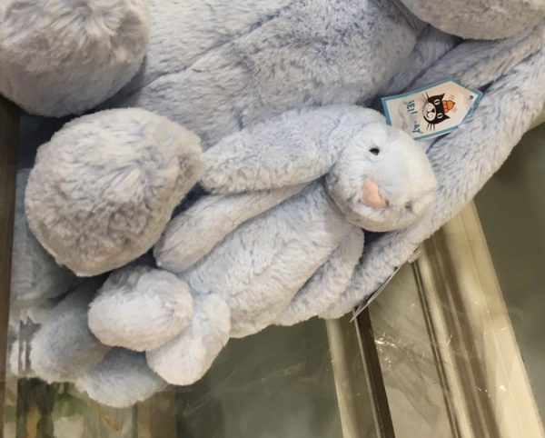 Small Blue JellyCat Bunny