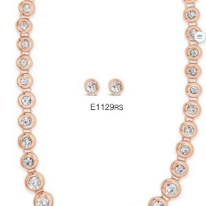 ABSOLUTE N1129RS ROSE GOLD NECKLACE