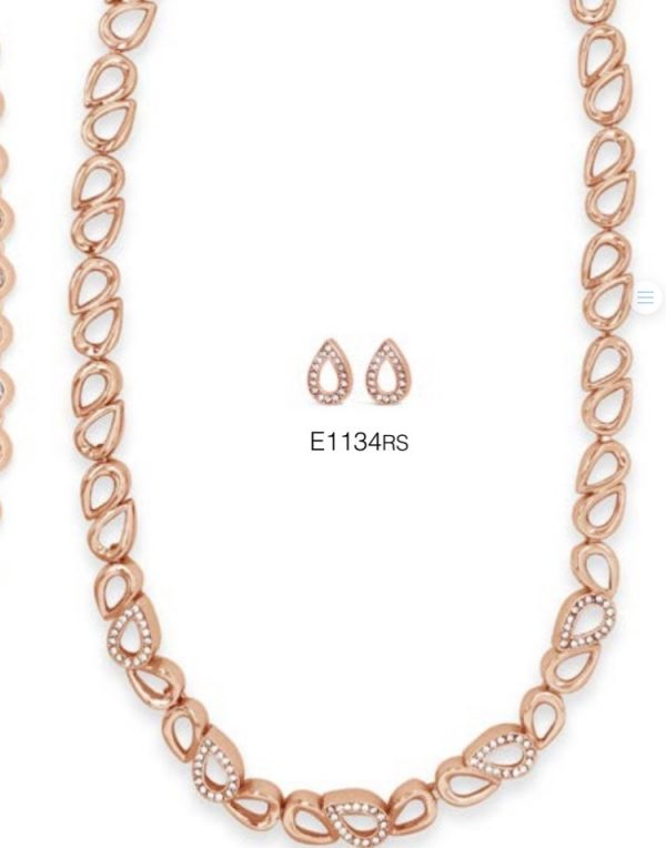 ABSOLUTE N1134RS ROSE GOLD NECKLACE