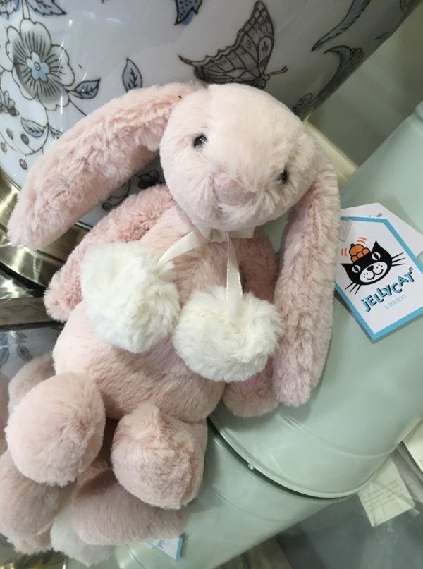 Little Pink Jelly Cat Pom Pom Bunny