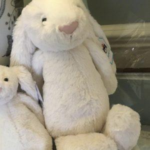 White JellyCat Rabbit