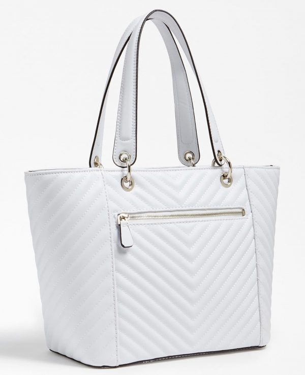 GUESS KAMRYN TOTE SHOPPER WHITE