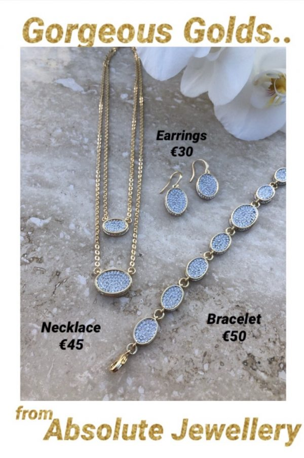 ABSOLUTE N2069GL GOLD NECKLACE