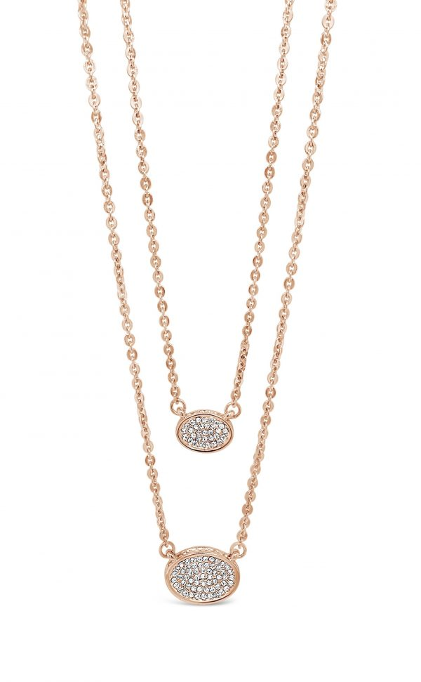 ABSOLUTE N2069MX ROSE GOLD MIX NECKLACE