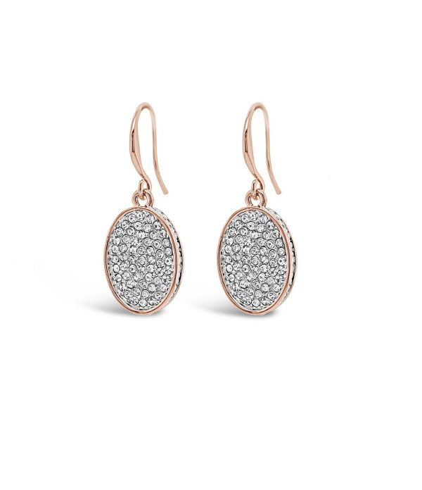 ABSOLUTE E2069MX ROSE GOLD MIX EARRINGS