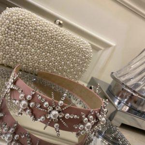 Beautiful Pink Crystal Headband
