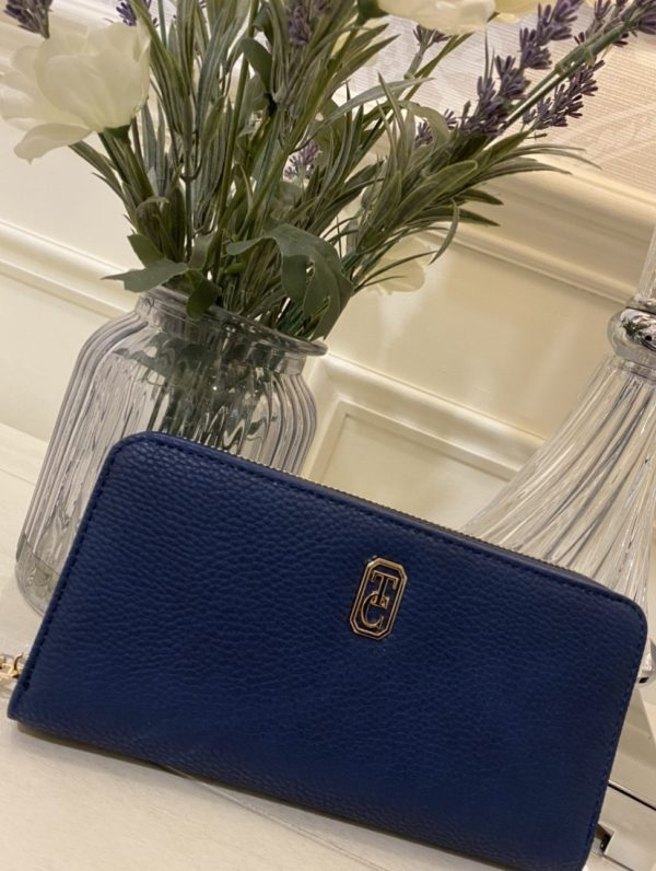 TIPPERARY CRYSTAL UMBRIA WALLET NAVY
