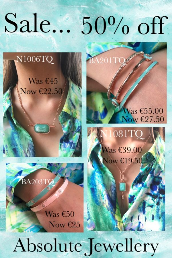 ABSOLUTE SALE N1006TQ TURQUOISE NECKLACE