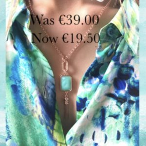 ABSOLUTE SALE NECKLACE N1081TQ TURQUOISE