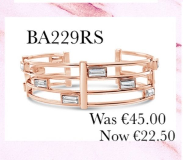 ABSOLUTE SALE ROSE GOLD BANGLE BA229RS