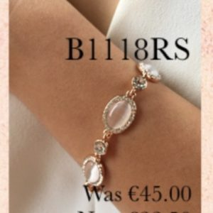 Absolute B1118RS Rose Gold Bracelet